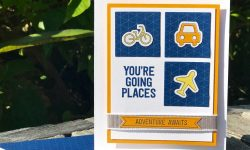 Stampin Up GSP145 EnRoute Suite Memories and More Congratulations card ideas Michelle Gleeson Stampinup SU