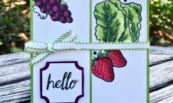 Stampin Up Market Fresh Darling Label Punch Box Anytime card ideas Michelle Gleeson Stampinup SU