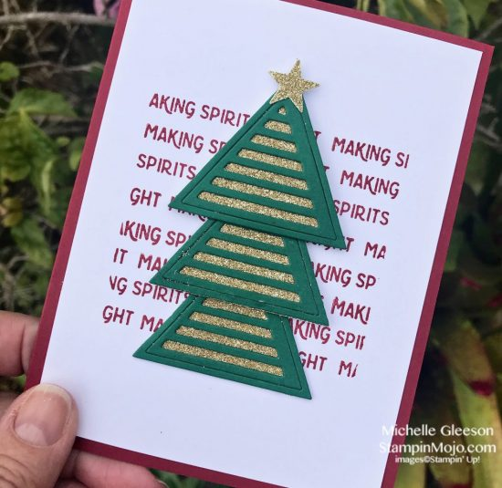 FMS 366 C9 Geometric Shapes Holiday Cards Michelle Gleeson