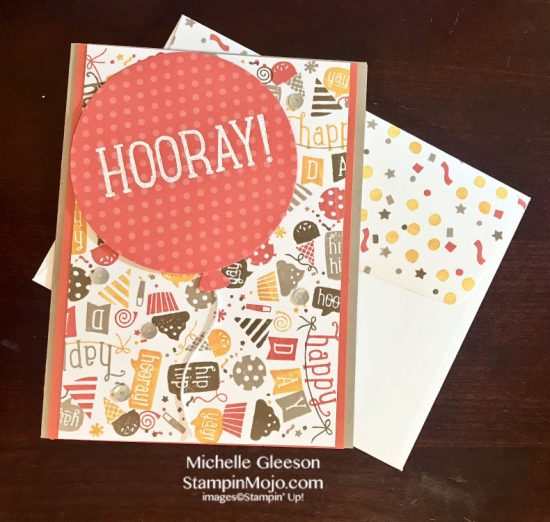 C9 Concord and 9th Birthday Card ideas Birthday Basics Turnabout Michelle Gleeson