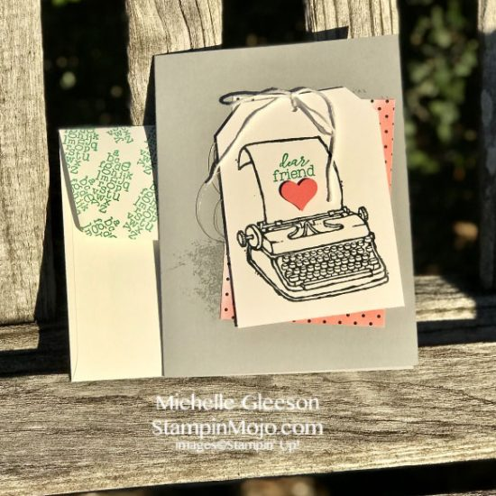 Stampin Up PS Youre the Best Step it Up Crafty Carrot Michelle Gleeson Stampinup SU