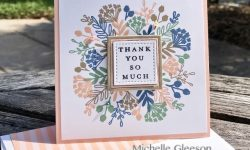 C9 Everyday Bouquet Turnabout Thank you card ideas Michelle Gleeson #Concordand9th