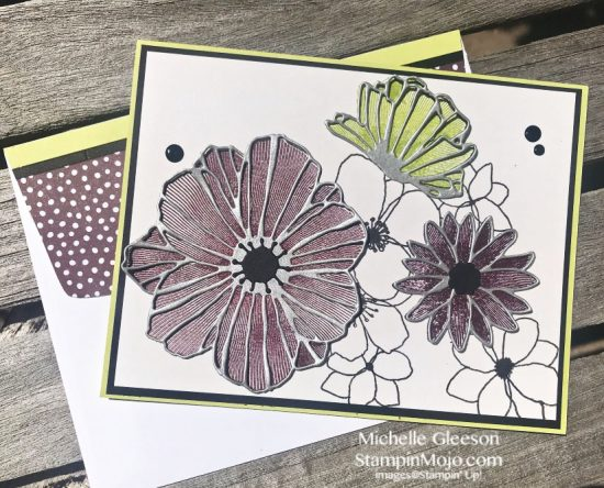 Concord & 9th Fine Floral Stamps & Dies Michelle Gleeson Card ideas