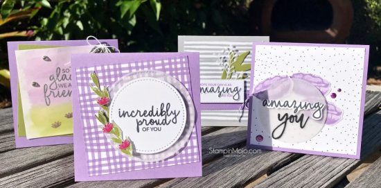 Crafty Carrot Collective Inspiration Stampin UP Incredible Like You Encouragement Cards Michelle Gleeson SU Stampinup