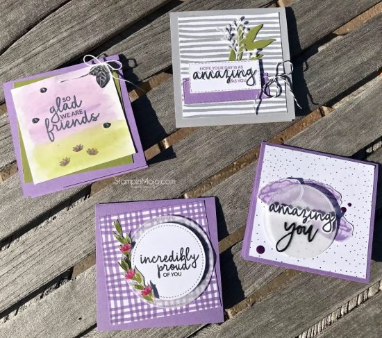 Crafty Carrot Collective Inspiration Stampin UP Incredible Like You Michelle Gleeson SU Stampinup