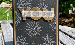MFT Fireworks MFT All About You Honey Bee Happy Birthday Birthday Card ideas Michelle Gleeson