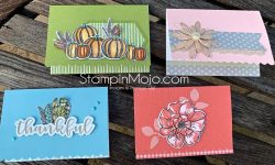 Stampin Up Scalloped Note card Gather Together To a Wild Rose Daisy Lane Anytime card ideas Michelle Gleeson Stampinup SU