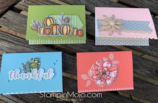 Stampin Up Scalloped Note cards Gather Together To a Wild Rose Daisy Lane Anytime card ideas Michelle Gleeson Stampinup SU