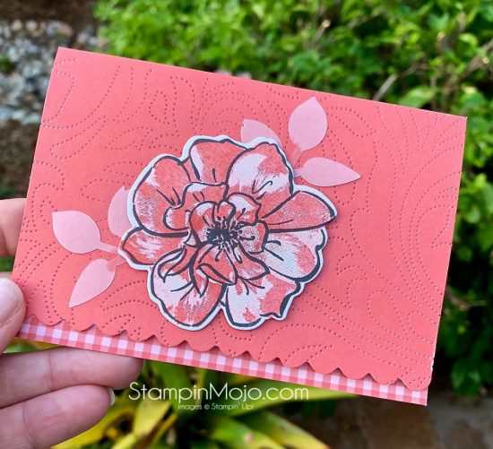 Stampin Up Scalloped Note cards To a Wild Rose Anytime card ideas Michelle Gleeson Stampinup SU