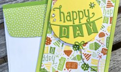 Concord and 9th Birthday Basics Turnabout and Dies Birthday Card Idea Michelle Gleeson C9