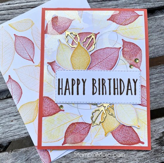 Stampin Up Rooted in Nature Bundle Perennial Birthday Birthday Card Ideas Michelle Gleeson Stampinup SU