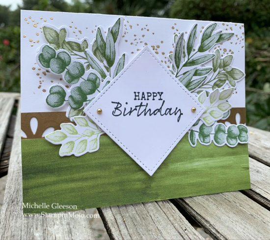 Stampin Up Forever Ferns Birthday Card Ideas Michelle Gleeson Stampinup SU